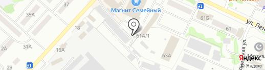 Маркорм на карте Волжска
