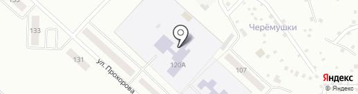 Средняя общеобразовательная школа №10 на карте Волжска
