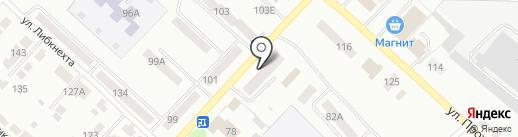 Участковый пункт полиции №5 на карте Волжска