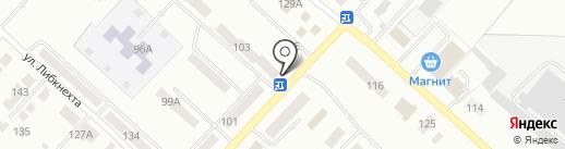 Сочный на карте Волжска