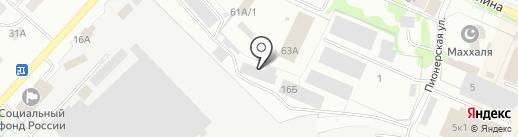 Промтекс на карте Волжска