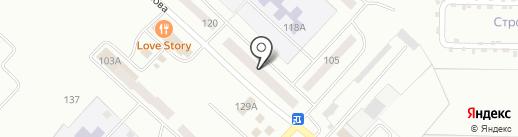 Почтовое отделение №3 на карте Волжска