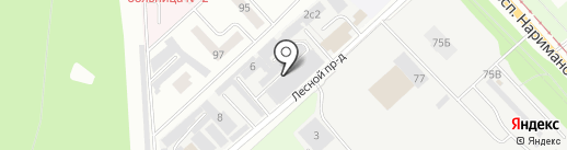 ГлавСтрой на карте Ульяновска