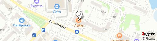 АвтоZапчасти на карте Волжска