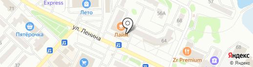 Friday`s на карте Волжска