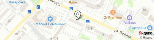 Волжские страницы на карте Волжска