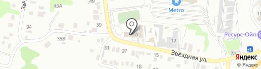 Юлия на карте Ульяновска
