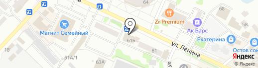 Аир Стиль на карте Волжска