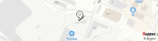 Эльсин Пакин на карте Волжска
