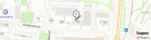 АвтоГерманика на карте Ульяновска