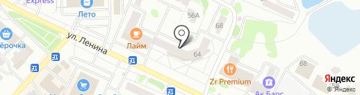 Имидж на карте Волжска