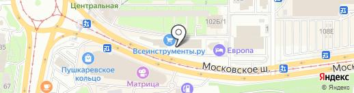 Day & Night на карте Ульяновска