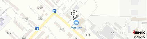 Автостоянка на карте Волжска