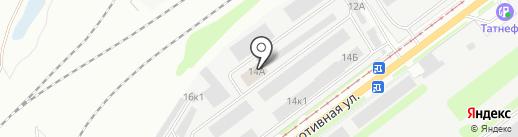 Агрофирма Сад на карте Ульяновска