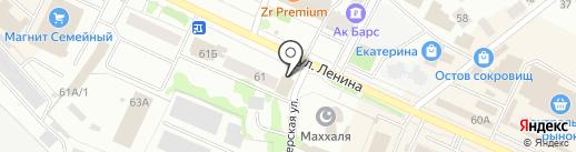 Мебельный мир на карте Волжска