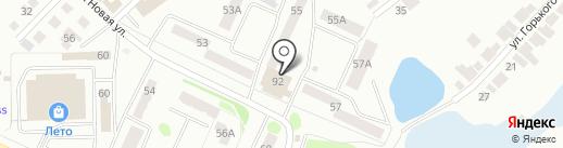 Лик на карте Волжска