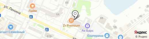 Пятерочка+ на карте Волжска