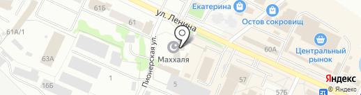 Махалля на карте Волжска
