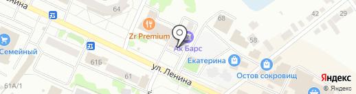 АКБ Спурт, ПАО на карте Волжска
