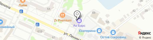 Фабрика Окон & Настоящие Двери на карте Волжска