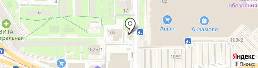 Дрова на карте Ульяновска