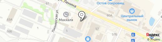 София на карте Волжска