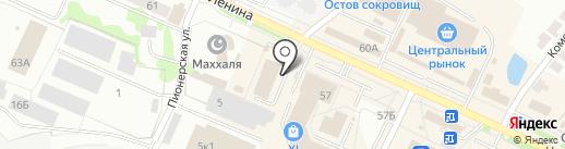 Магазин игрушек на ул. Ленина на карте Волжска