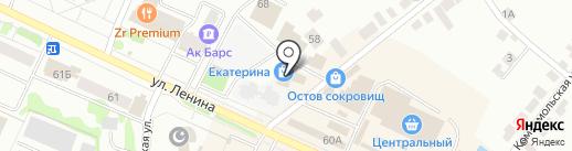 Лайт на карте Волжска