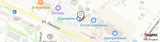Салон металлоизделий на карте Волжска