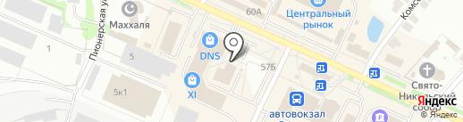 Столовая на карте Волжска