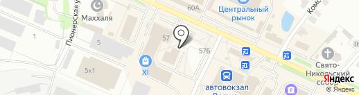 Магазин сувениров на карте Волжска