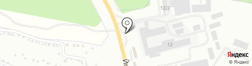АЗС Torgop-oil на карте Волжска