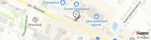 Лея на карте Волжска