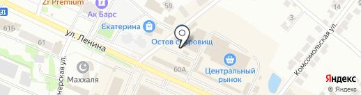 Обжорка на карте Волжска