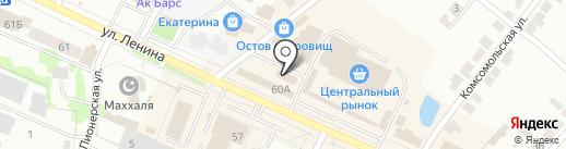 ФайТро на карте Волжска