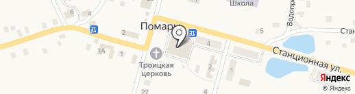 Волжское РАЙПО на карте Помар
