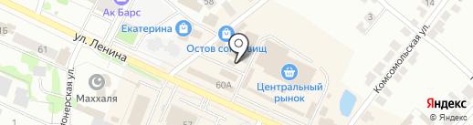 Триада на карте Волжска