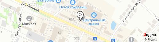 Райхан на карте Волжска
