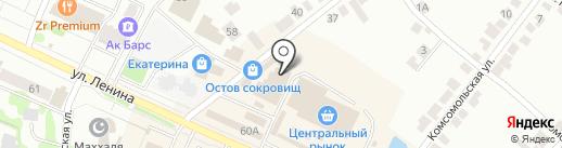Ценопад на карте Волжска