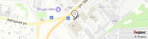 Авто с пробегом на карте Ульяновска