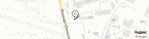 Магазин автозапчастей для Камаз на карте Волжска