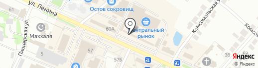 Евросеть на карте Волжска