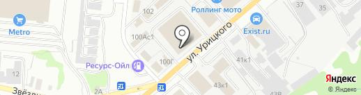 СпецАвтоТранс на карте Ульяновска