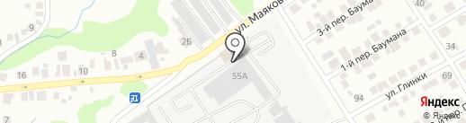 ПСВ на карте Ульяновска