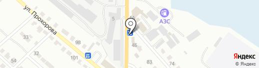 Автоленд на карте Волжска