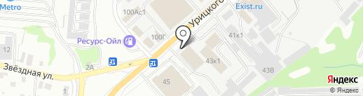 Механика на карте Ульяновска