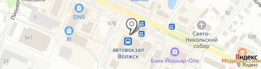 Ремакс на карте Волжска
