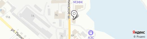 Торгово-монтажная фирма на карте Волжска