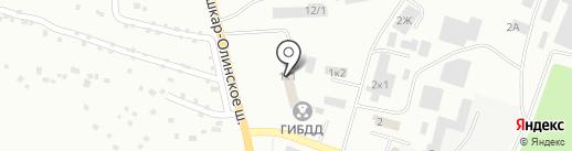 Волжская станция по борьбе с болезнями животных на карте Волжска