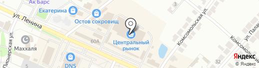 Продовольственный магазин №10 на карте Волжска